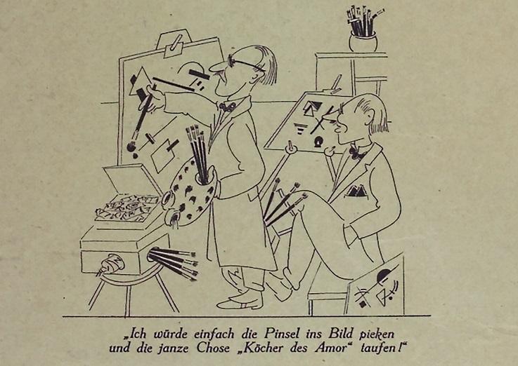 Karikatur J. D. Kirszenbaum